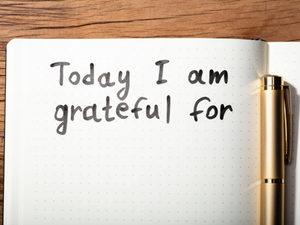 gratitude journals are often used in coaching