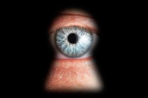 keyhole eye
