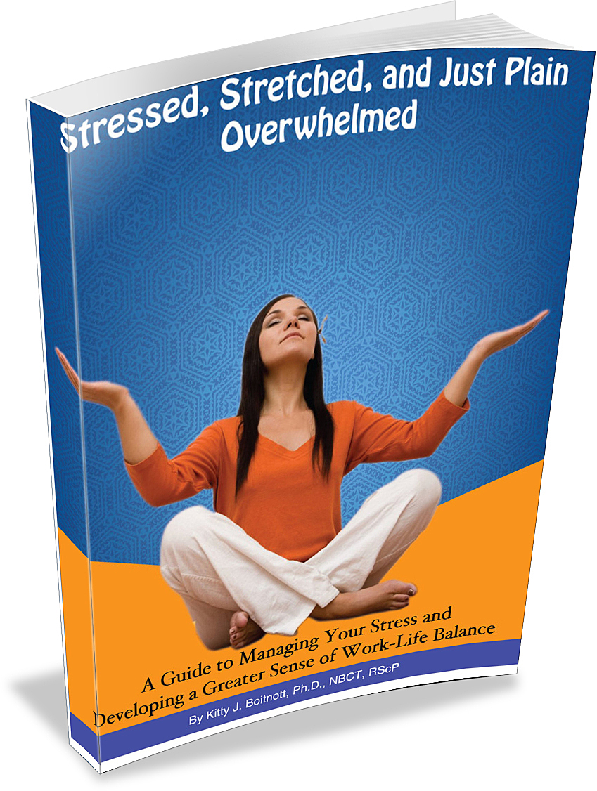 Stressed, Stretched & Just Plain Overwhelmed book cover