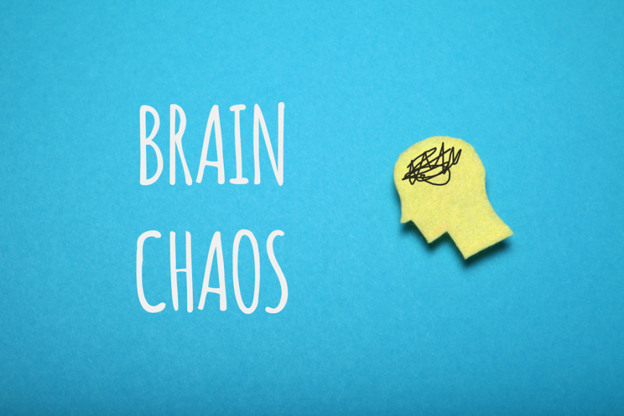 adult brain chaos, confusion