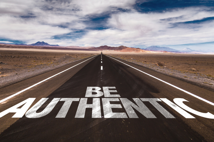 be authentic on desert road