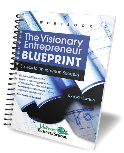 Ryan Eliason's Visionary Entrepreneur Blueprint