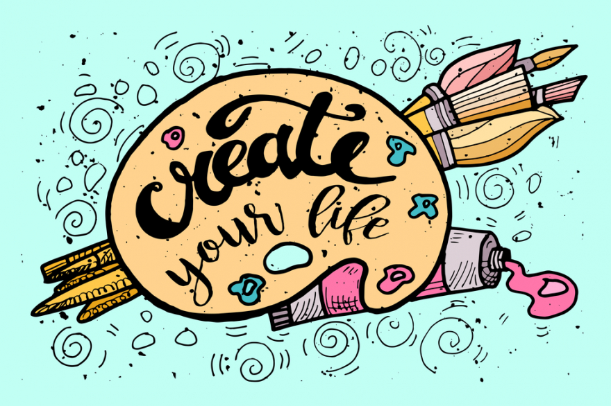 Create your life on a palette