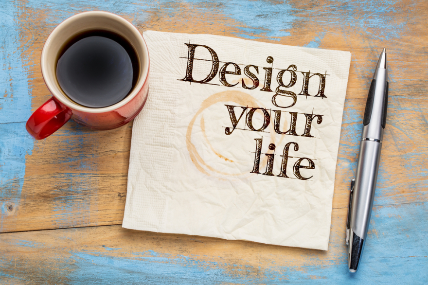 design your life on a napkin
