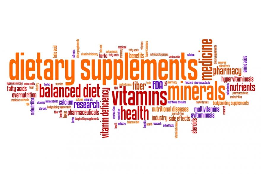 supplements word cloud
