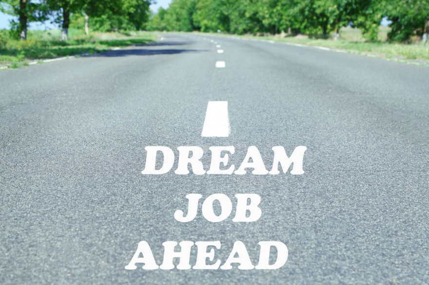 dream job ahead on road