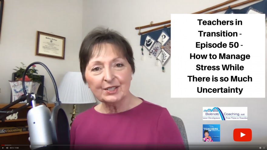 Teachers in Transition YouTube Episode 50