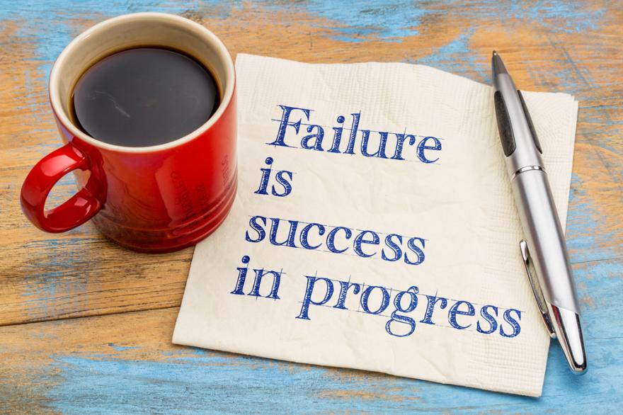 success is failure in progress