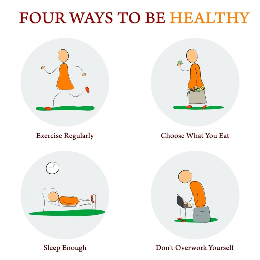 Four Ways to Be Healthier