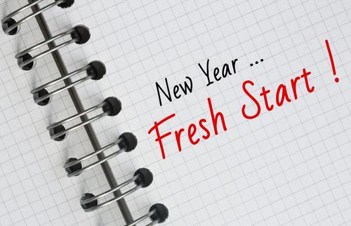 New Year--Fresh Start
