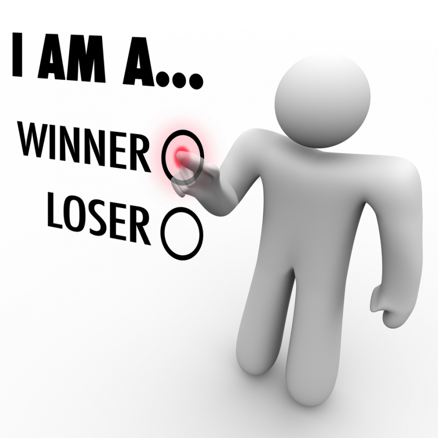 I am a winner vs. loser