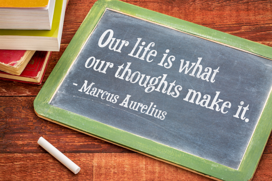 Marcus Aurelius on thoughts