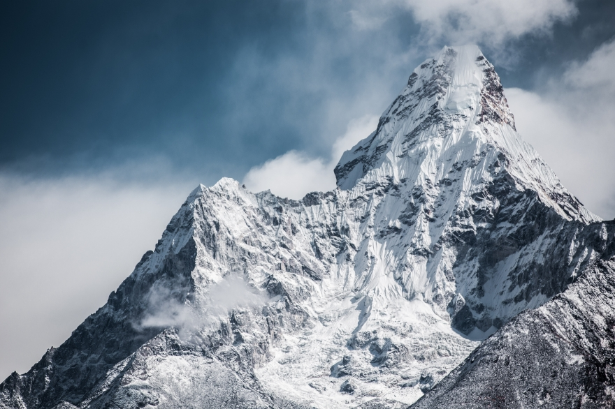 Martin Jernberg photo of Mount Everest from base camp