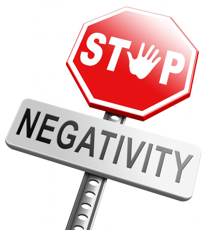 no pessimism stop negativity