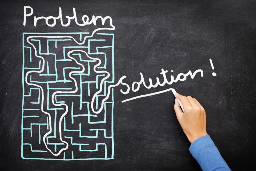 Problem Solution - solving maze