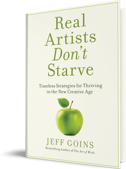 Image of Jeff Goins' new book