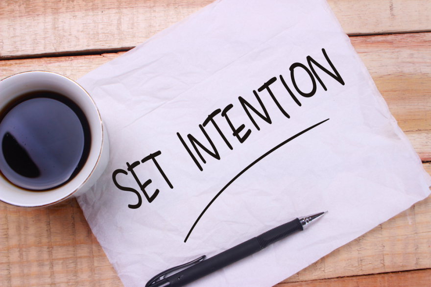 set intention