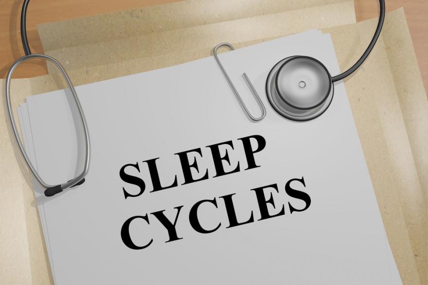 sleep cycles medical icon