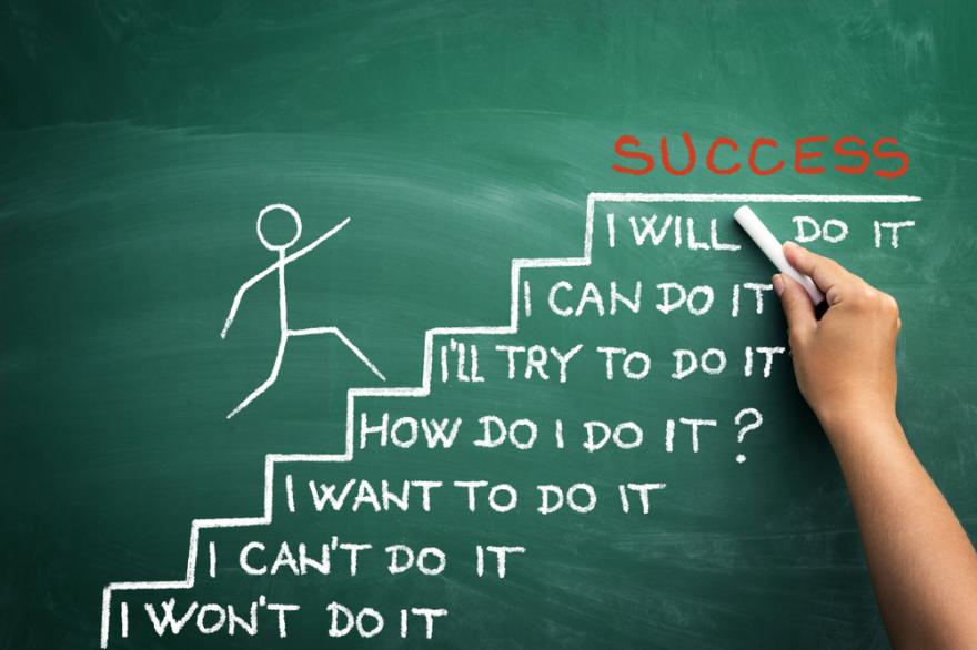 believe in yourself - success