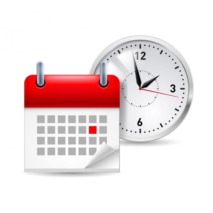 clock and calendar icon