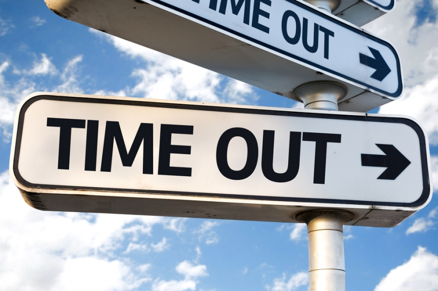 time out sign