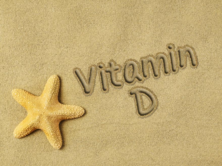 Vitamine D on sand