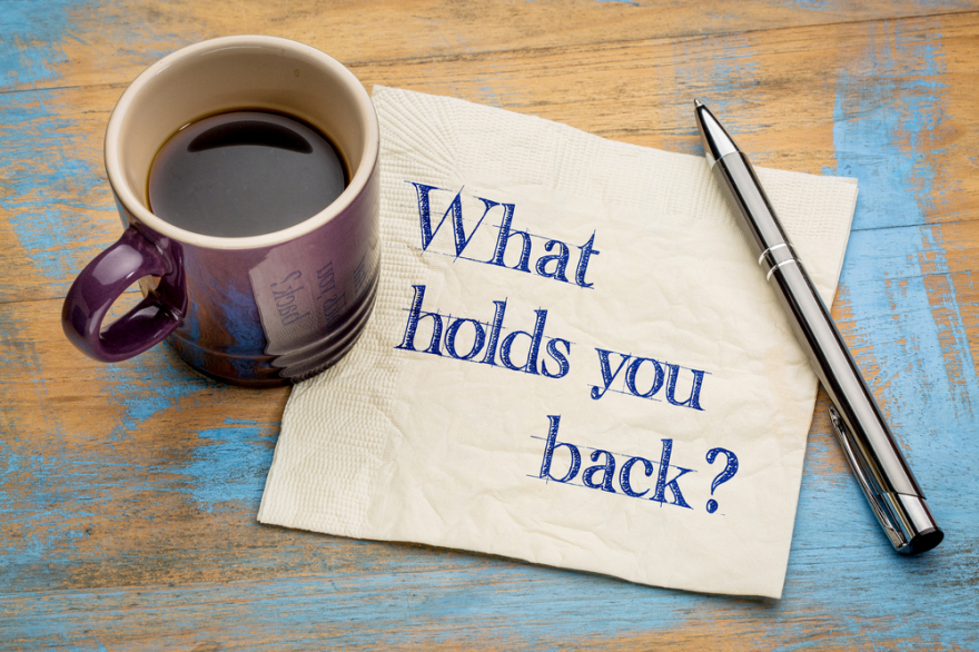 what is holding your back?