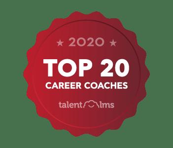 logo for top 20 female coaches to follow
