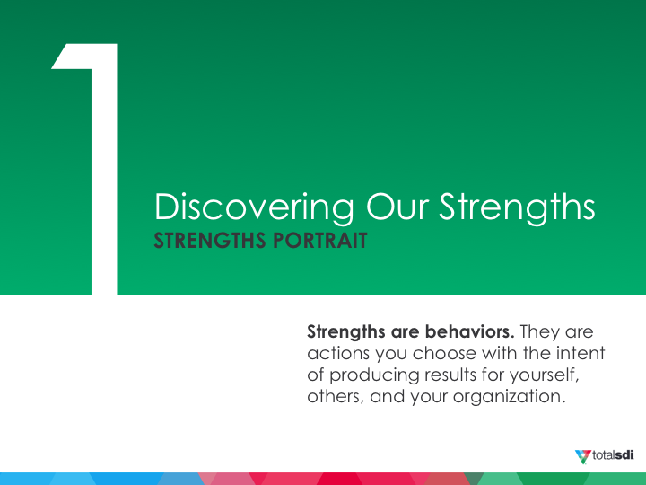 Strengths Portrait
