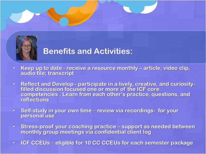 2018 Mentor coaching benefits