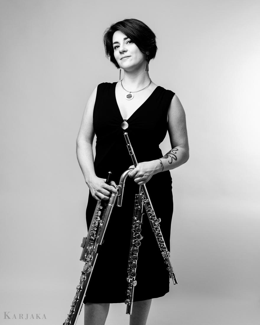 Shanna Gutierrez - Flutist (US) (credit: Aleks Karjaka)
