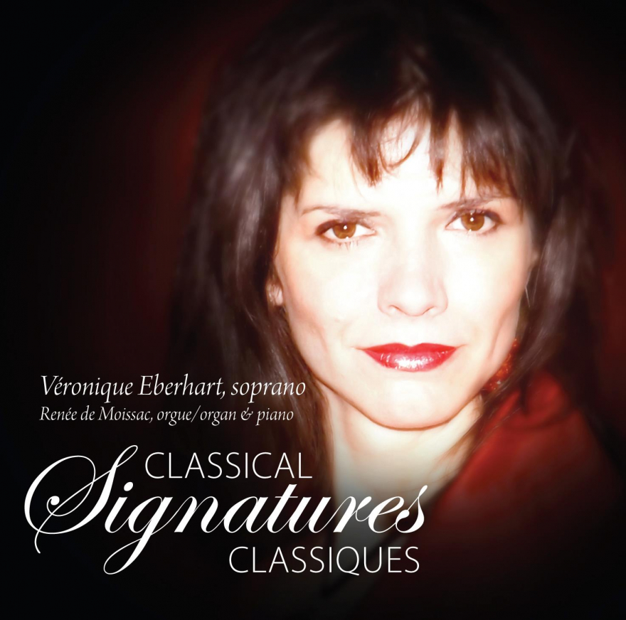 Image of Veronique Eberhart of her CD cover