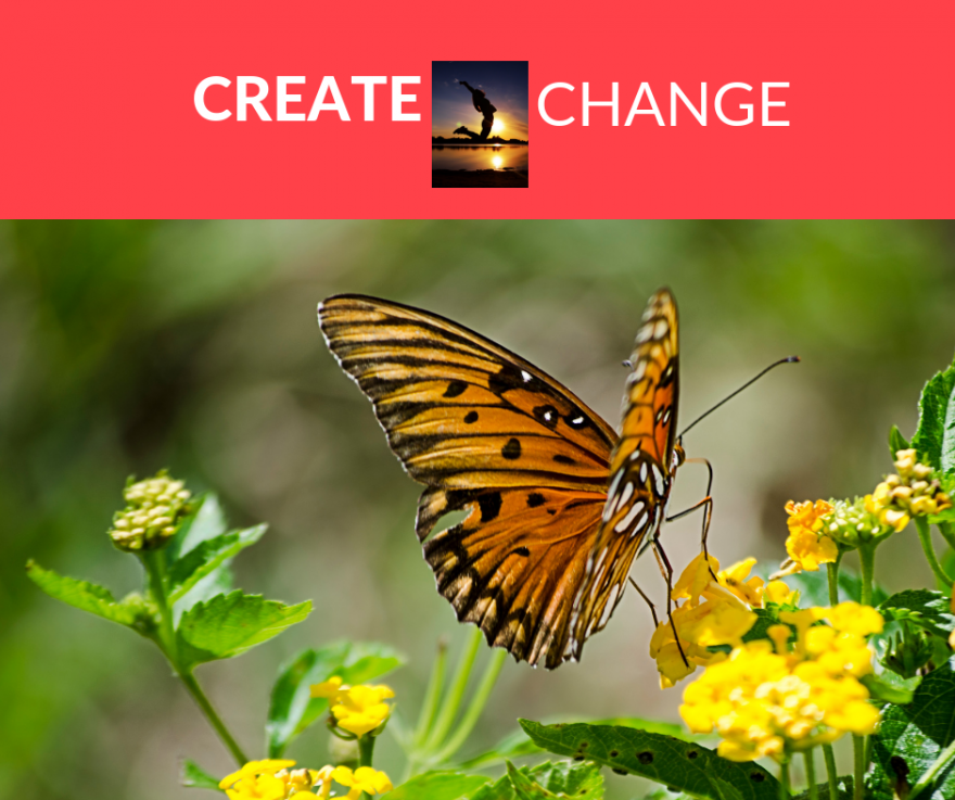 CREATE CHANGE- 4 Week Self- Study