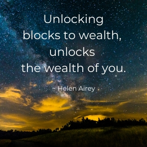 Unlocking blocks to wealth
