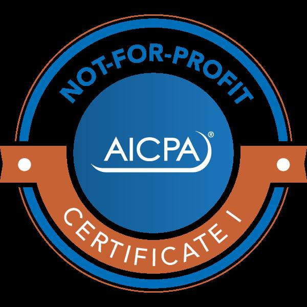 AICPA NFP BADGE