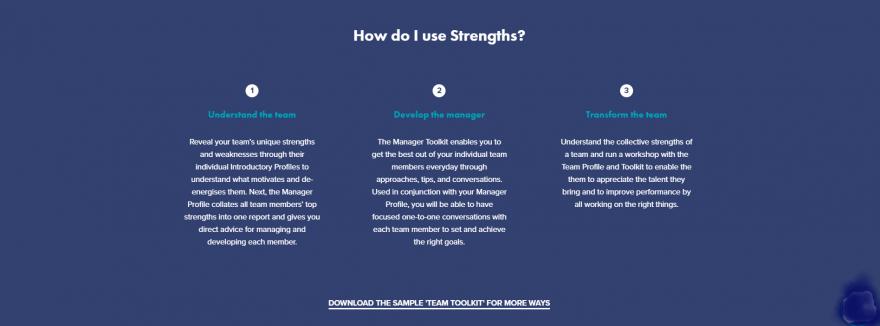 HOW DO I USE STRENGTHS