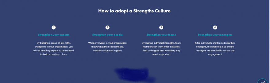 HOW TO ADOPT A STRENGTHS CULTURE