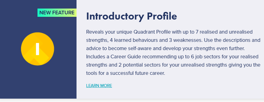 INTRODUCTORY PROFILE