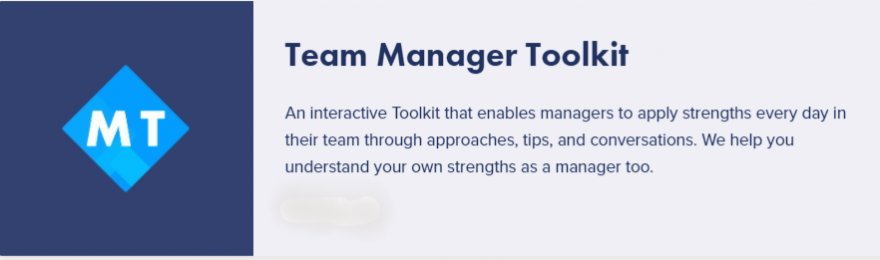 TEAM MANAGER TOOLKIT