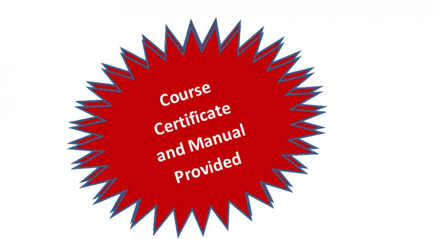 certificate badge