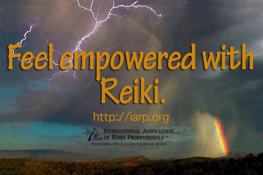 Feel empowered with Reiki
