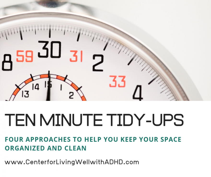 Ten Minute Tidy Ups