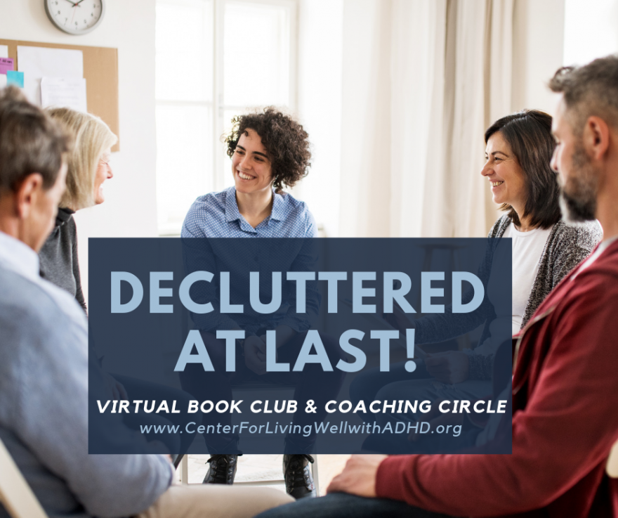 DeCluttered at Last Fall Book Club