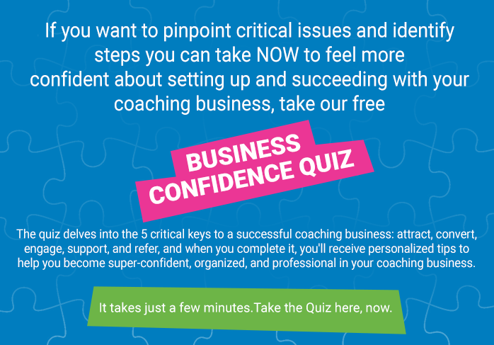 Business Confidence Quiz